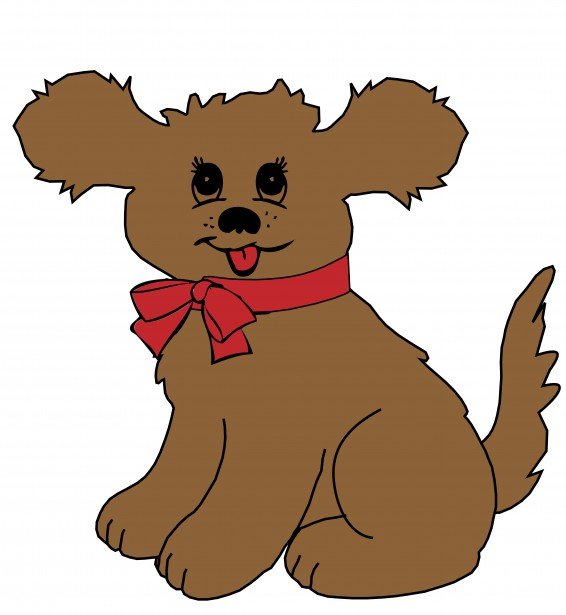 566x615 Image Of Cute Dog Clipart