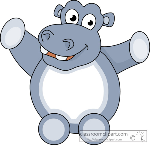 500x485 Top 79 Hippopotamus Clipart