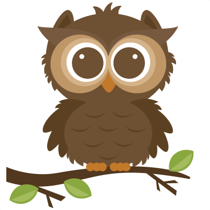 432x432 Free Cute Animal Clipart Forrest Owl Svg Cut File For Scrapbooking