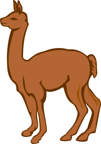 420x598 Pleasant Llama Clip Art Cartoon Free Clipart Images Xmas Ideas
