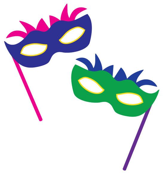 546x577 Dancer Clipart Masquerade
