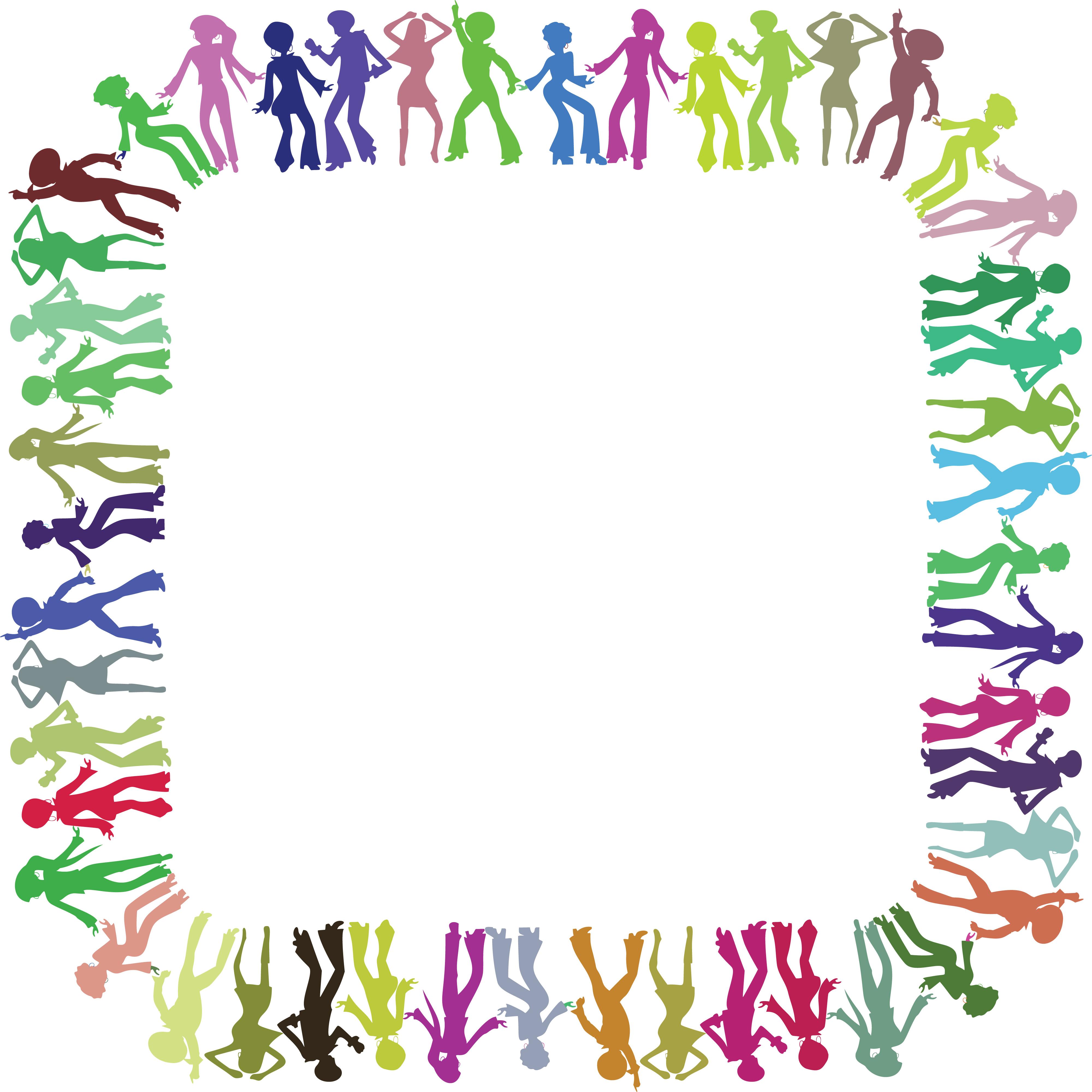 4000x4000 Dance Border Clip Art 316 Free Clipart A Square Border Frame