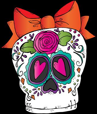 338x400 Melonheadz Illustrating Sugar Skull Freebie 2015 Clip Artsy