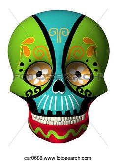 236x329 Rudolph Muerte Dia De Los Muertos Amp Sugar Skulls