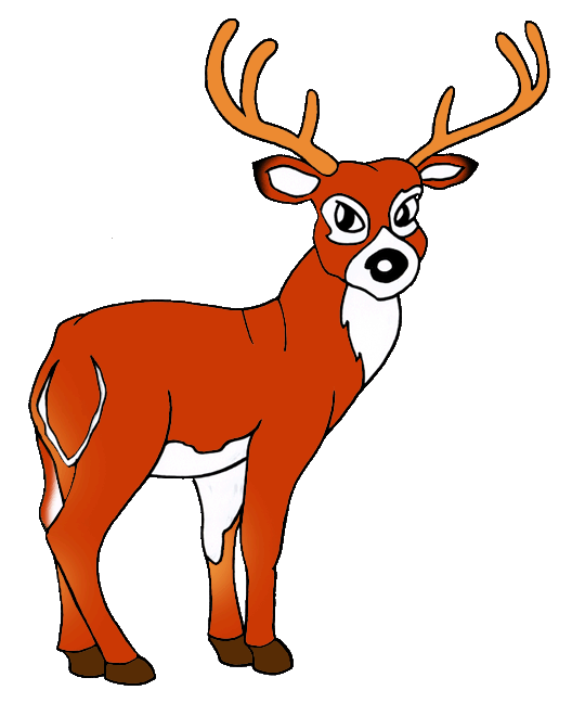 540x648 White Tailed Deer Clip Art United States Clip Art Phillip Martin