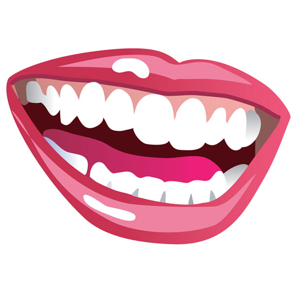 600x600 Clipart Mouth Teeth