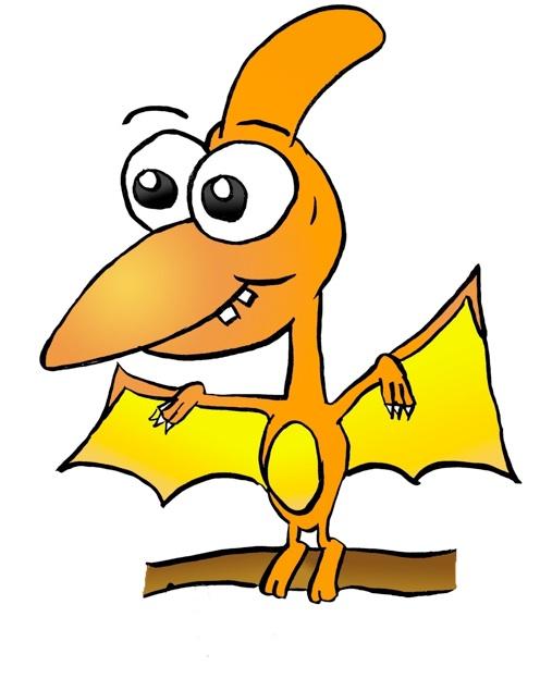 496x635 Cute Dinosaur Clipart Pterodactyl Cute Dinosaur Cartoon Clipart