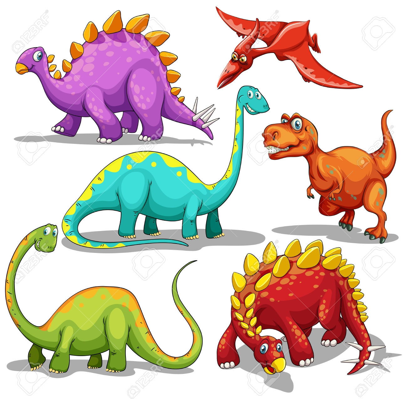 1300x1273 Awesome Dinosaurs Clipart Gallery
