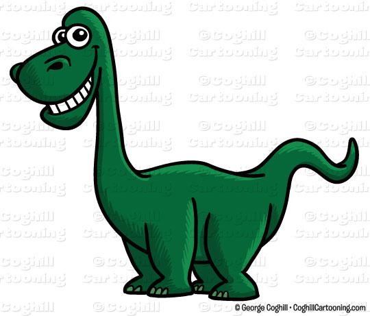 540x461 Cartoon Dinosaur Clip Art Stock Illustration