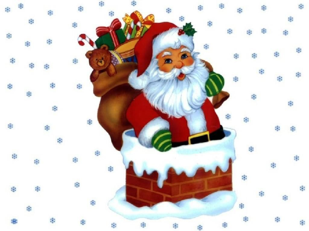 1024x768 Free Clip Art Santa Claus Clip Art Free Desktop Background