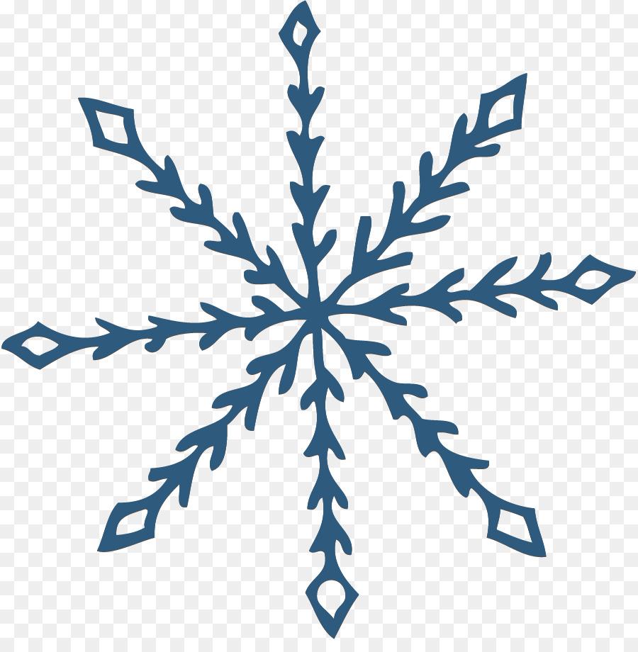 900x920 Snowflake Clipart