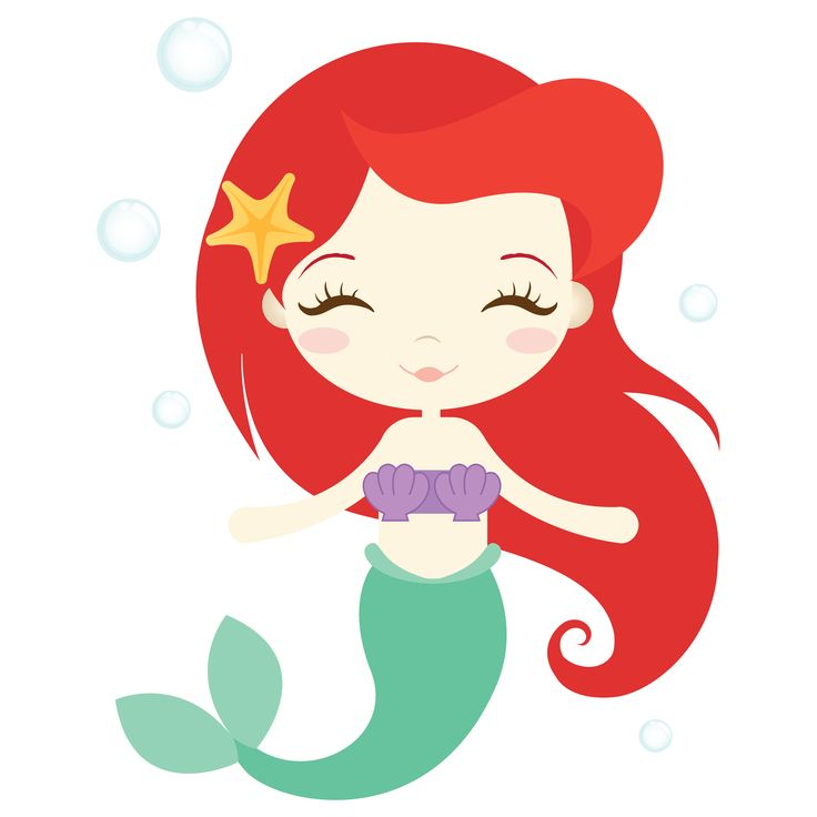 736x736 Mermaid Clipart Vector 3708006