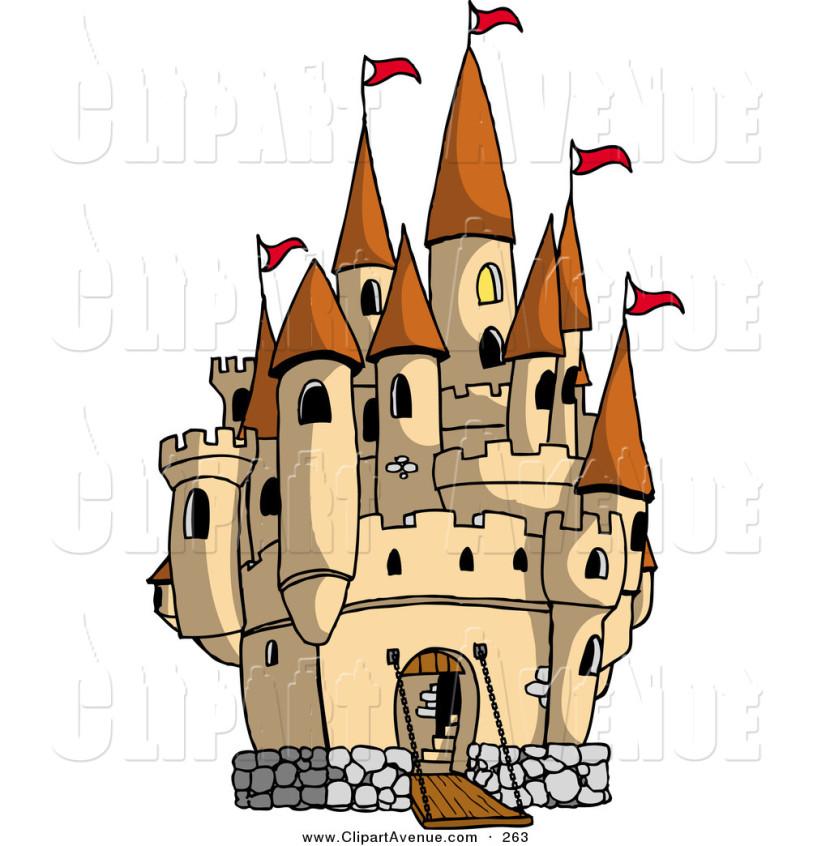830x846 Castle Clipart
