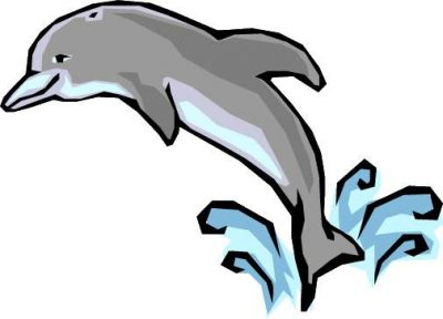 400x288 Dolphin Clipart Clipartaz Free Clipart Collection