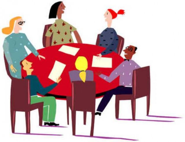 640x490 Meeting Clipart Group Woman 3705653