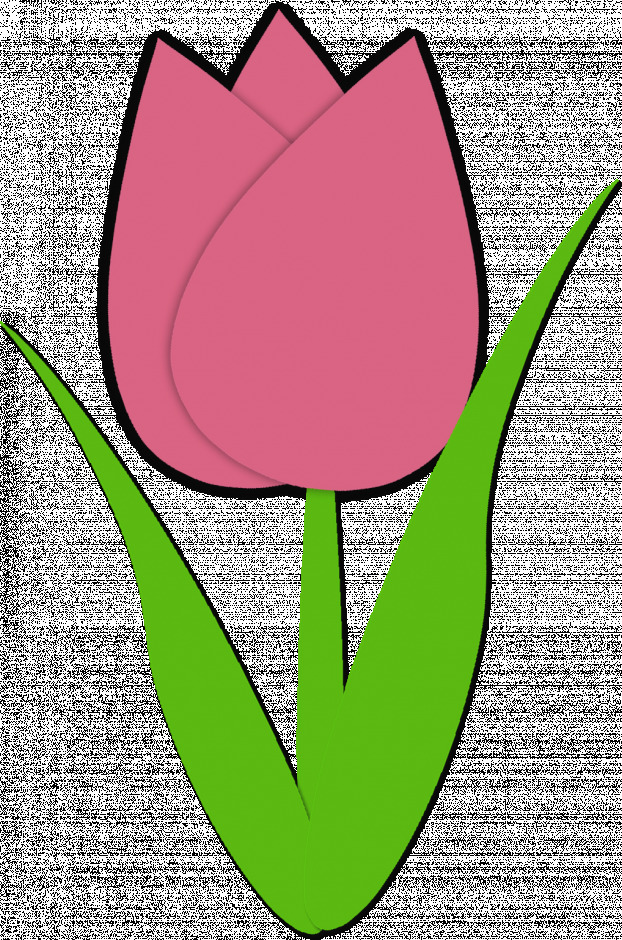 622x940 Pictures Tulip Clip Art Pink And Yellow Clipart Free Download