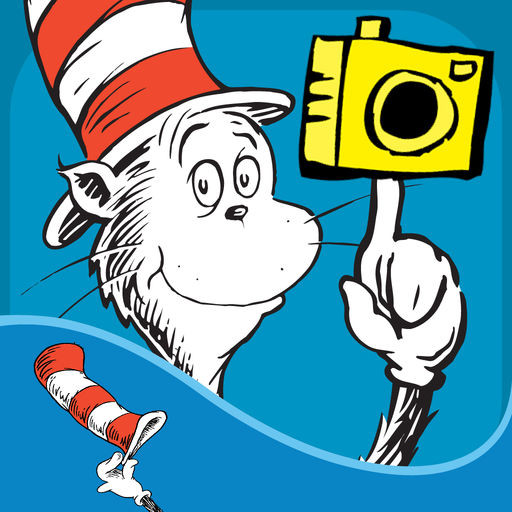 512x512 Awesome Dr Seuss Clip Art Free Images Dr Seuss Camera The Cat