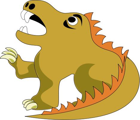 469x400 Free Dragon Clipart