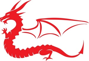 300x205 Free Free Dragon Clip Art Image 0071 0907 1819 1746 Animal Clipart