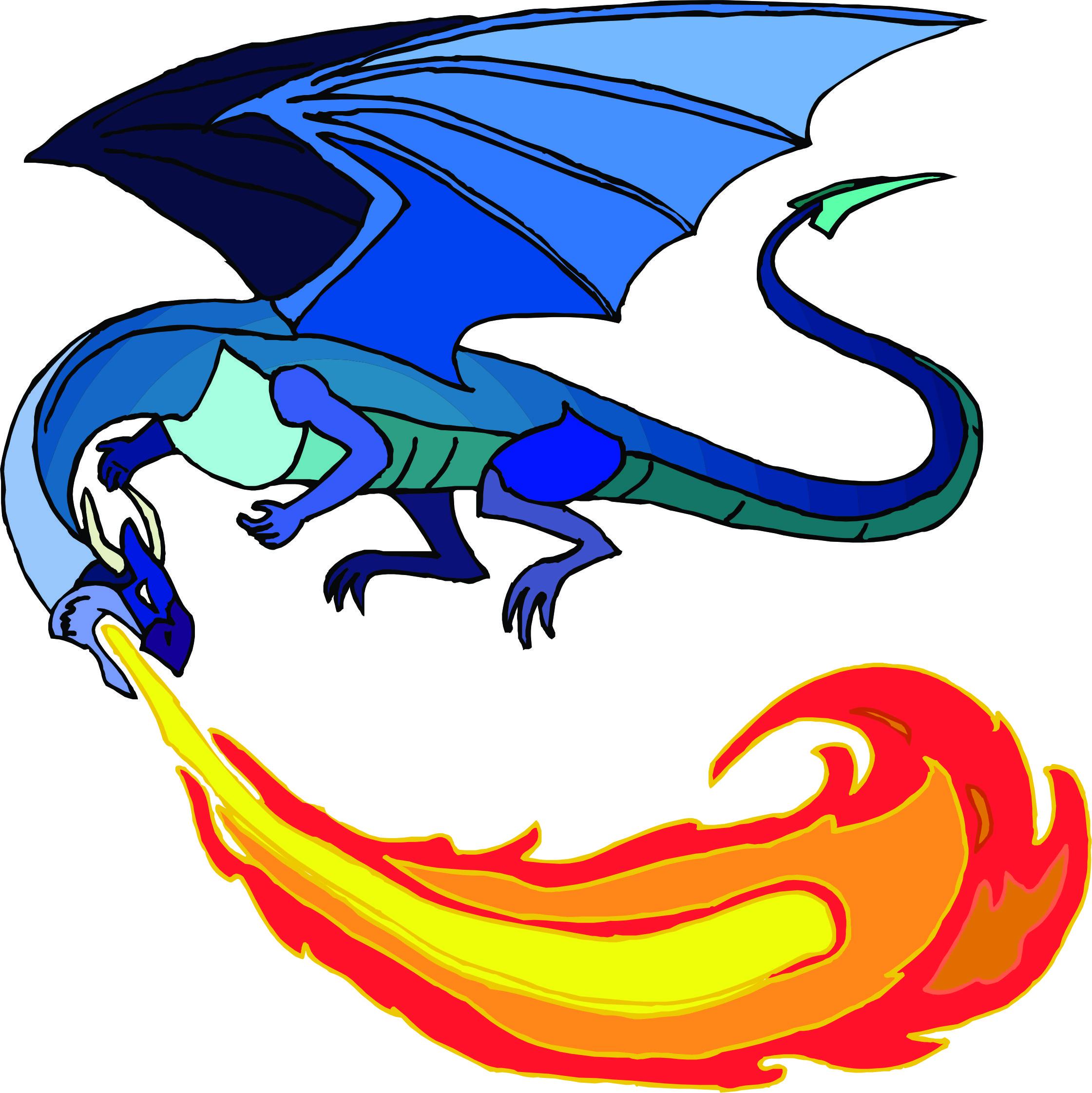 2241x2243 Free Dragon Clipart Keywords