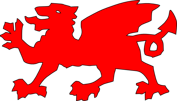 600x342 Welsh Dragon Red Clip Art Clipart Panda