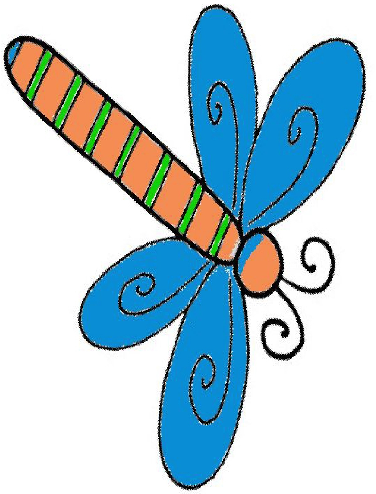 1199x1574 Best Of Dragonfly Clipart Design