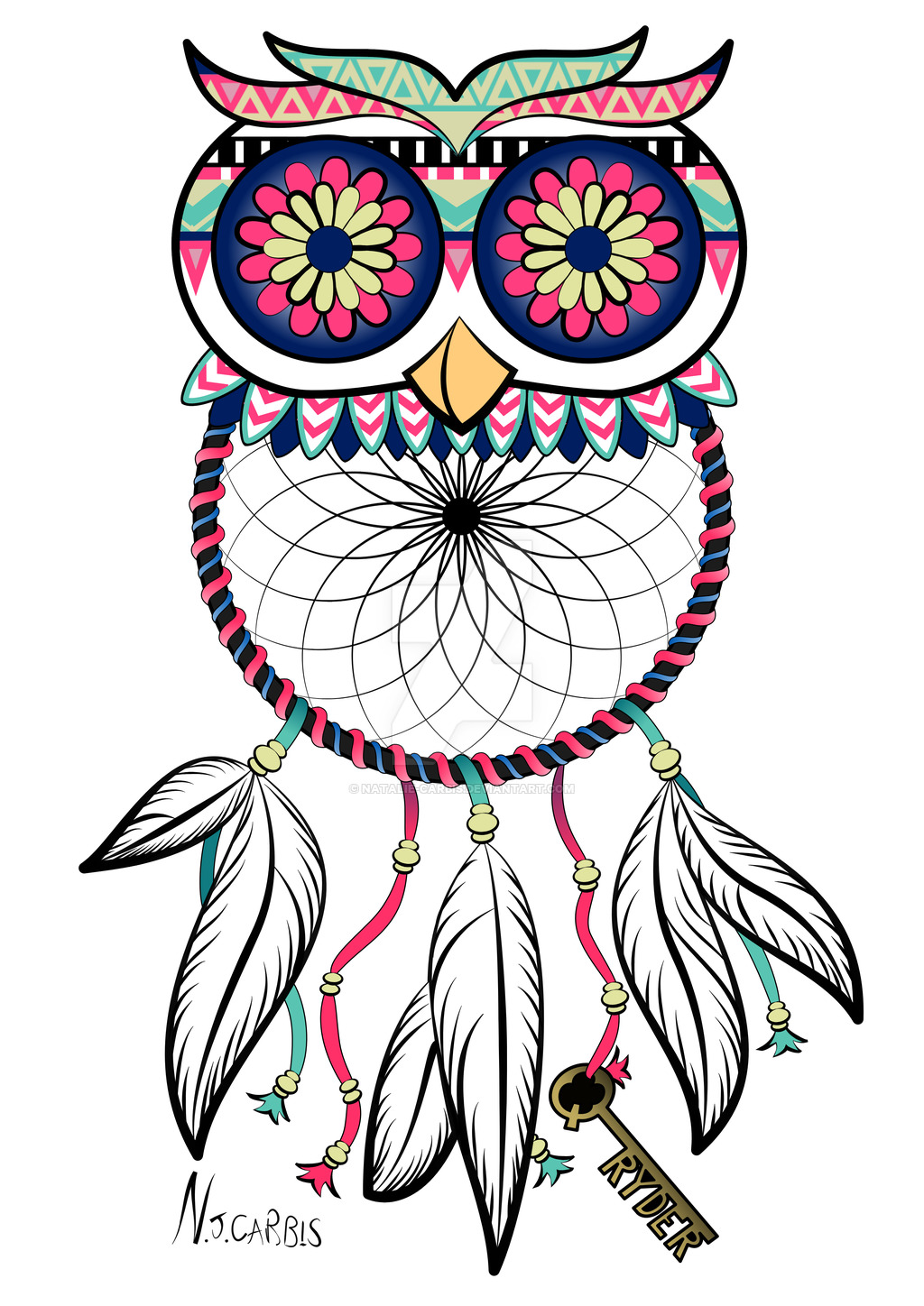 Dream Catcher Tattoo Drawing at GetDrawings Free for