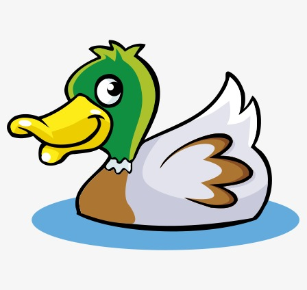448x424 Duck Cartoon Png, Vectors, Psd, And Clipart For Free Download
