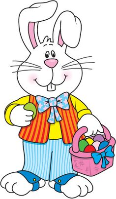 236x403 Easter Bunny Holding A Big Easter Egg. Easter Clipart Ideas