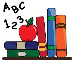 300x250 Free Educational Clipart For Teachers Teacher Apple Clipart Free