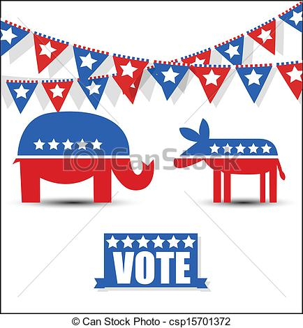 434x470 Election Day Sign And Symbol Vector. Usa Election Day Symbol