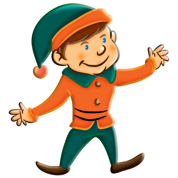 600x600 Christmas Girl Elf Clipart Archives Hd Christmas Pictures Image 3