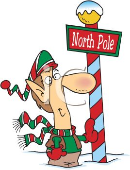 268x350 North Pole Clip Art