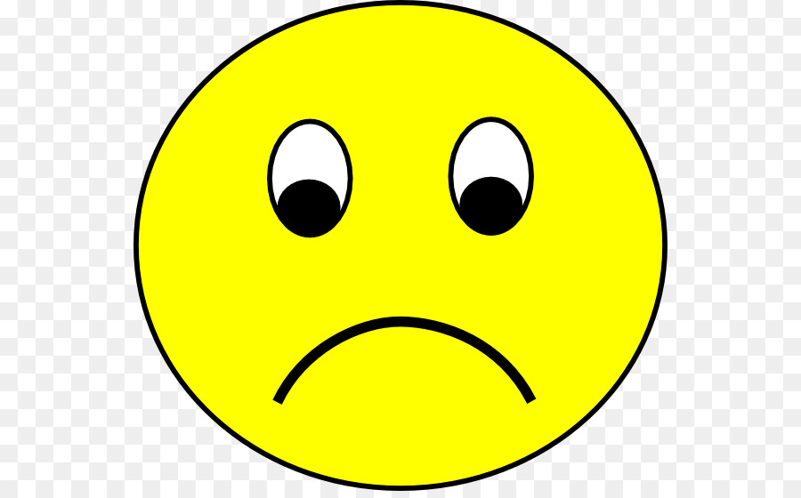 900x560 Smiley Sadness Emoticon Clip Art
