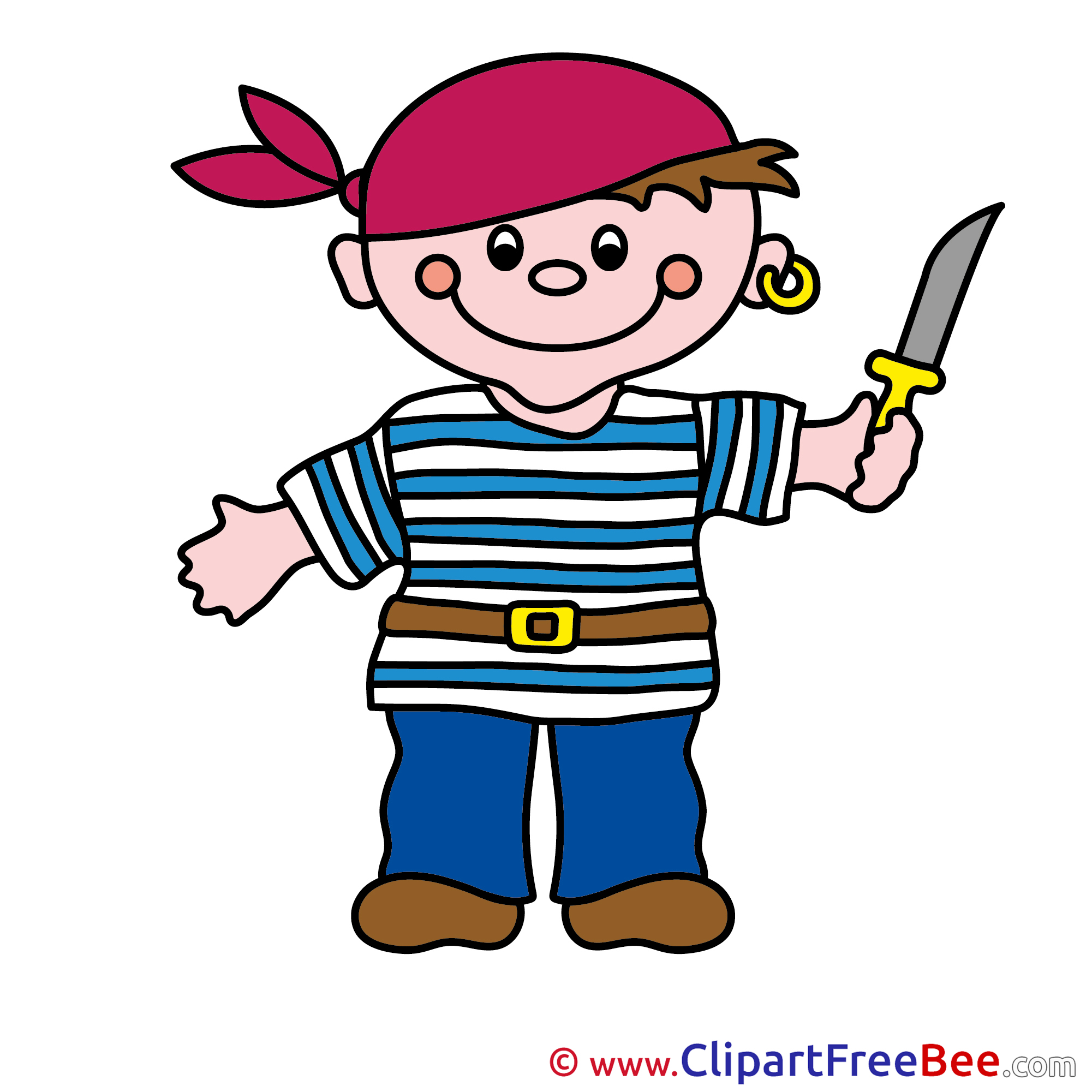 2001x2001 Knife Boy Pirate Fairy Tale Clip Art For Free