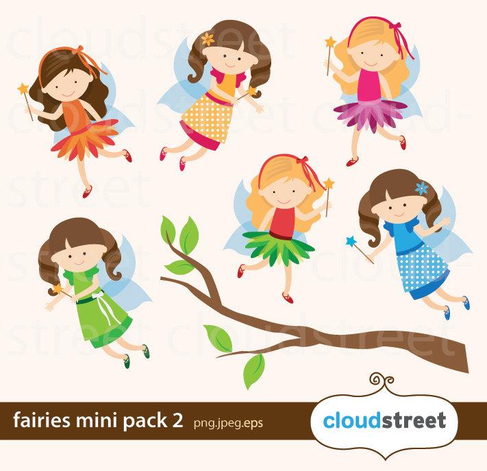 711x688 Buy 2 Get 1 Free Fairies Clip Art Mini Pack 2 Fairy Clipart