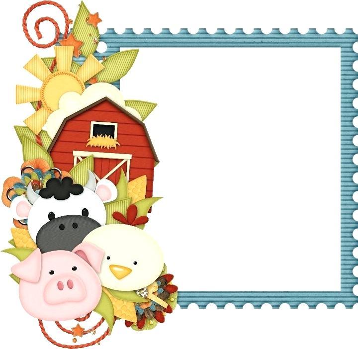 720x702 Free Farm Clip Art Giraffe Border Graphics For Free Farm Border