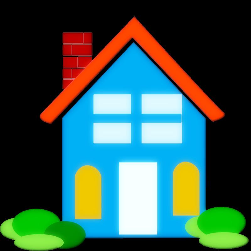 800x800 Clip Art House Address Clipart