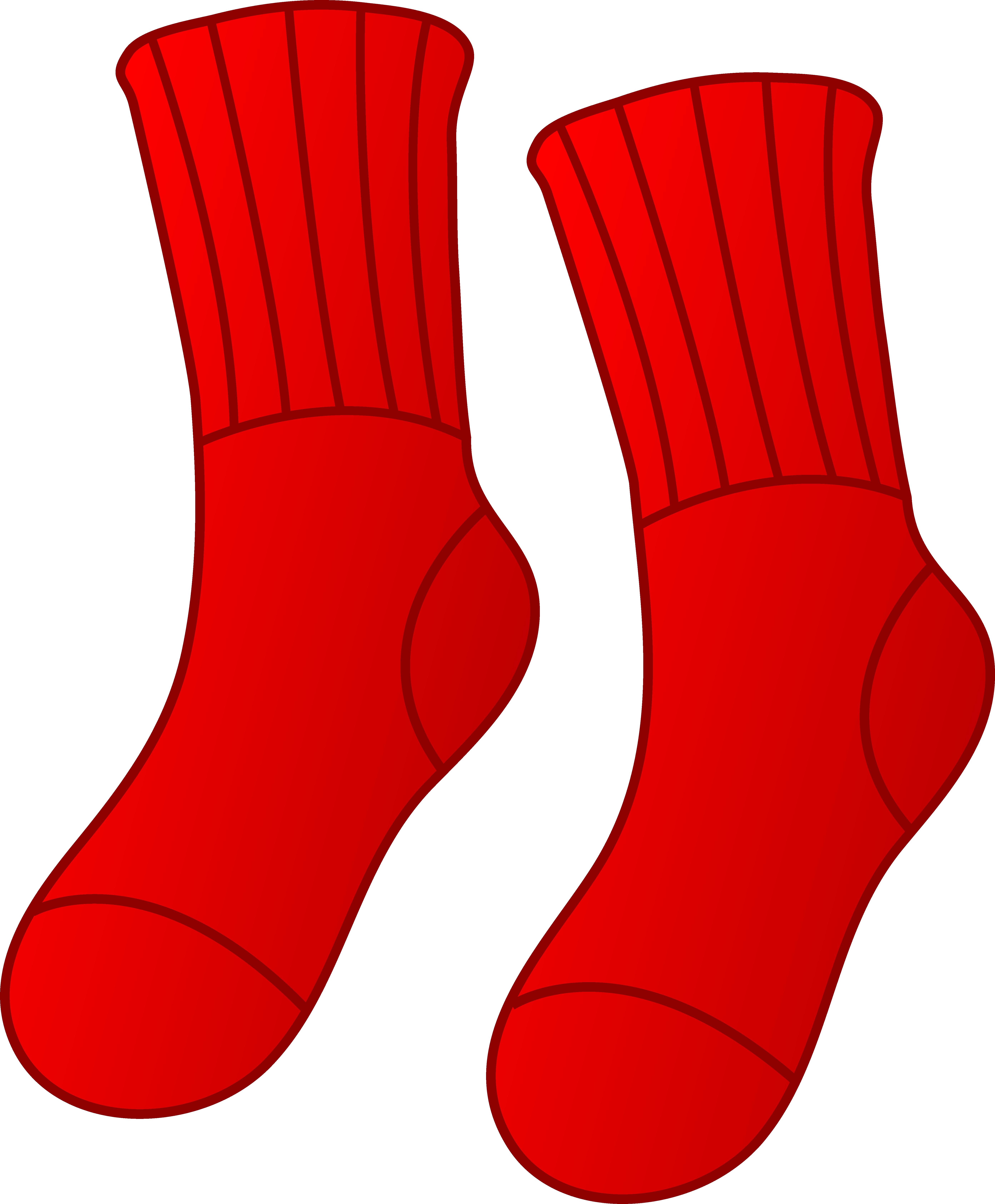 5570x6735 Pair Of Red Socks