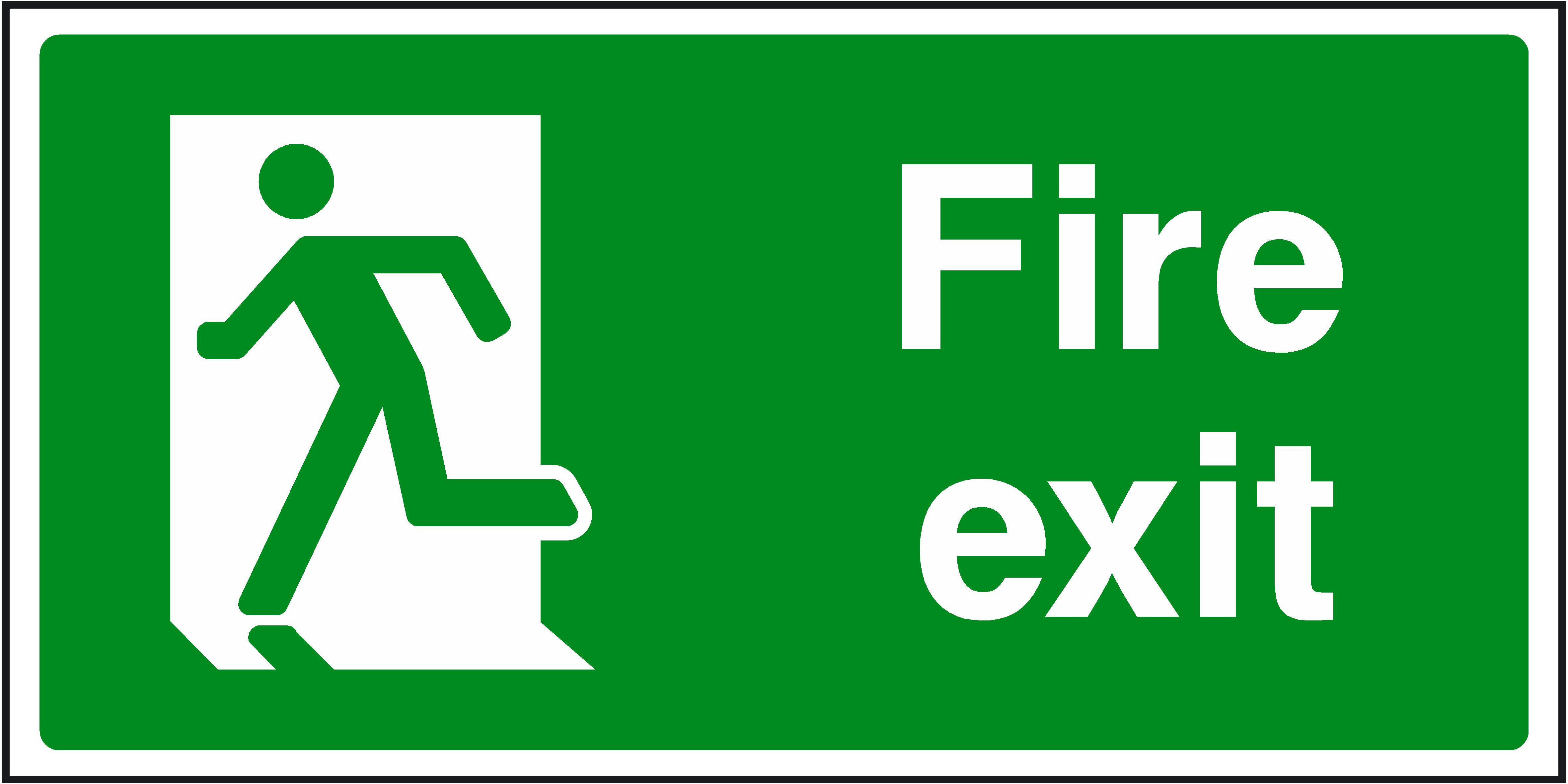 4725x2363 Collection Of Fire Exit Clipart High Quality, Free Cliparts