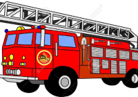 200x140 Fire Truck Clipart Free Clip Art Fire Trucks And Fire Fighters