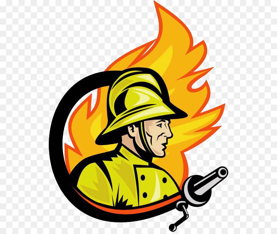 900x760 Firefighter Fire Department Royalty Free Logo Clip Art