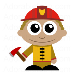 250x250 Firefighter Fire Fighter Clip Art Clipartspin