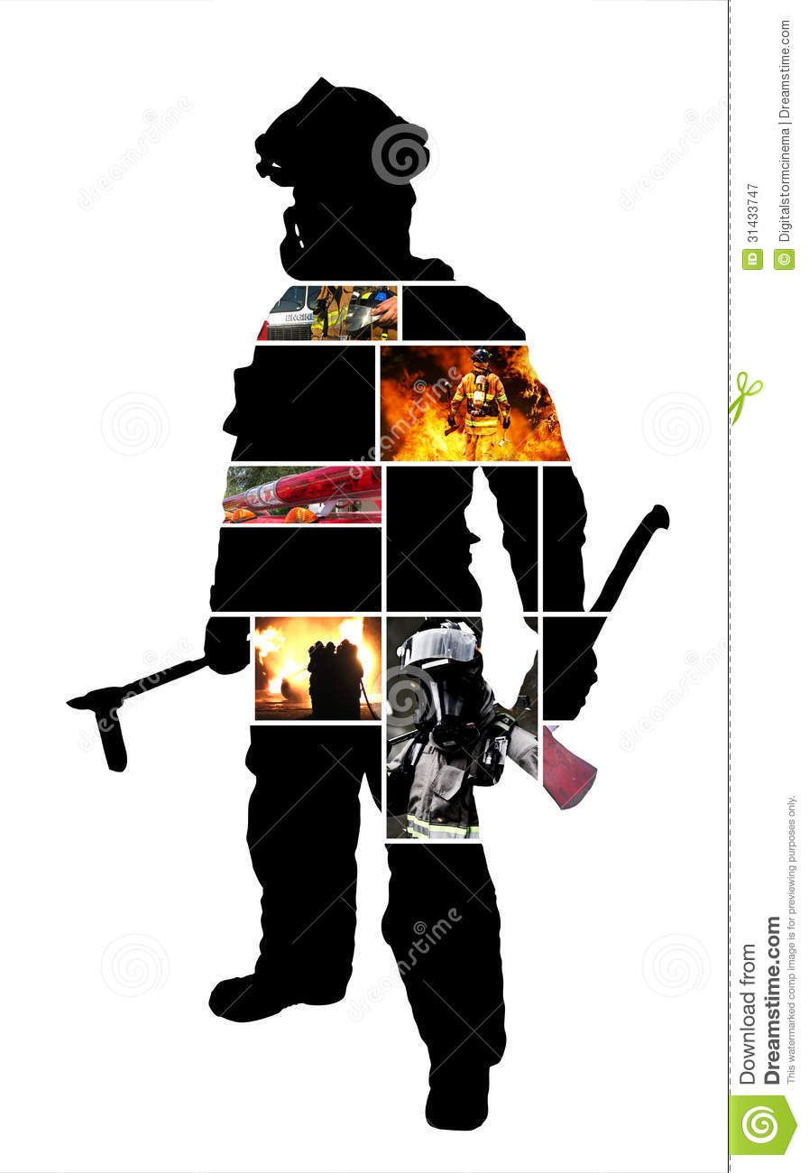 897x1300 Firefighter Scenes With A Graphics Firefighter