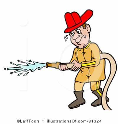 400x420 Royalty Free Fireman Clipart Illustration 31324 The Milk Meg
