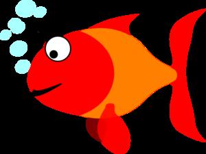 300x225 Happy Fish Clip Art