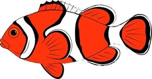 300x157 Fish Animals Clipart Happy Blue Design Free Clip Art