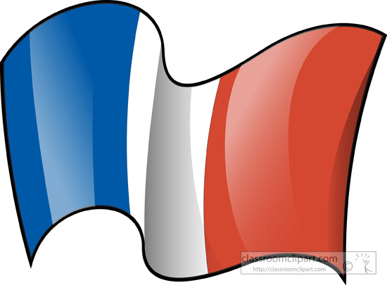 550x405 France Flag Clipart Clipart Free Download