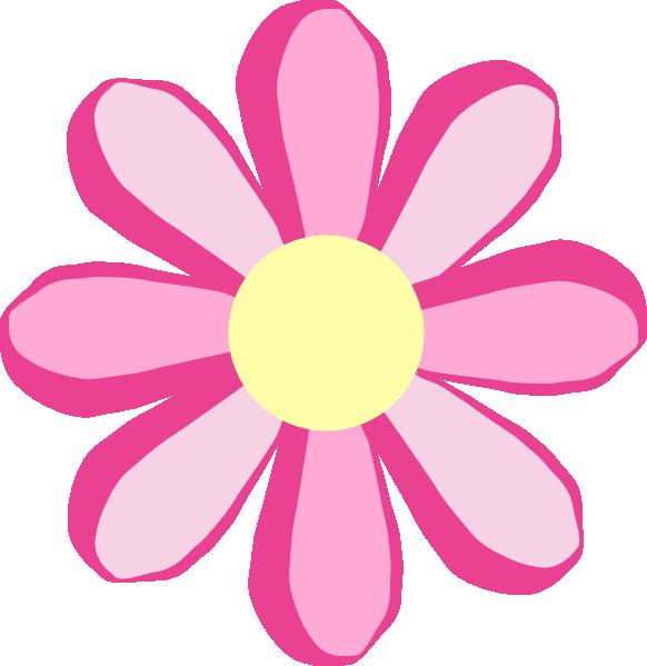 582x599 Petal Clipart Cute Flower