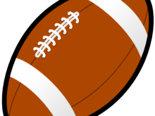 220x165 Football Clipart Free Football Clipart Black And White Clipart
